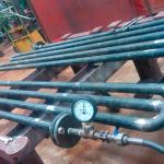 Trocador de calor tubo duplo